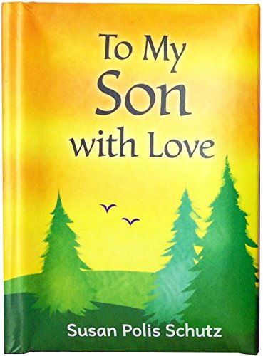 """Blue Mountain Arts Little Keepsake Book""""To My Son with Love"""" 4 x 3 in. Sentimental Pocket-Sized Gift Book from Mom for Son's Birthday, Graduation, Christmas, or""""Just Because,"""" by Susan Polis Schutz"""