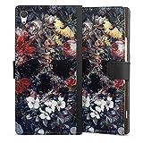 DeinDesign Étui Compatible avec Sony Xperia XA1 Ultra Étui Folio Étui magnétique Fleurs Tête de...