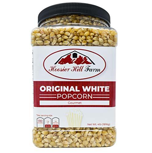 American Popcorn Mais Original White (1,81 kg) echter USA Feinschmecker Popping Corn für Kochfeld, Airpopper oder Mikrowelle