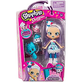 Shopkins Shoppies Doll Single Pack - Fria Fro | Shopkin.Toys - Image 1