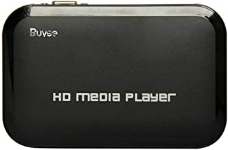 Buyee Portable HD for 1080P Resolution Multi Media Player 3 Outputs Hdmi, Vga, Av, 2 Inputs Sd Card & USB Reader for Hdds or Pen Drives, Digital Auto-play & Loop-play