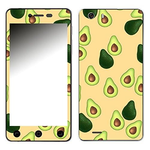 Disagu SF-106881_1123 Design Folie für Switel eSmart H1 - Motiv Avocados Muster orange