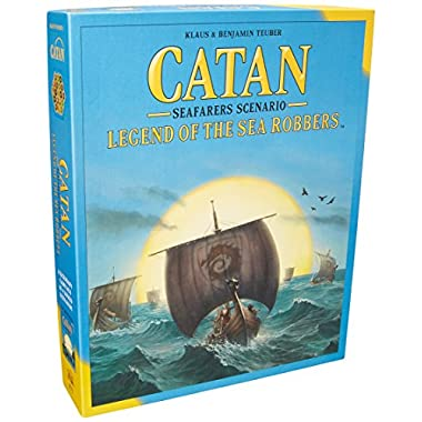 Fantasy Flight Games Catan: Legend of The Sea Robbers