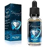 Diamond Aroma für E-Liquids | Blue Magic (NEUE REZREPTUR!)| 30ml | Aromakonzentrat zum Mischen mit Basen | Für E-Zigaretten und E-Shishas | Ohne Nikotin 0,0mg | Made in Germany! Vape Liquid Aroma
