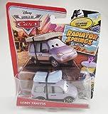 Disney/Pixar Cars, Radiator Springs Classic, Leroy Traffik Exclusive Die-Cast Vehicle, 1:55 Scale