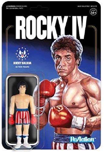 Jakks Pacific Rocky Balboa Action Figure Rocky Balboa Black Robe and Black Gloves Early Release