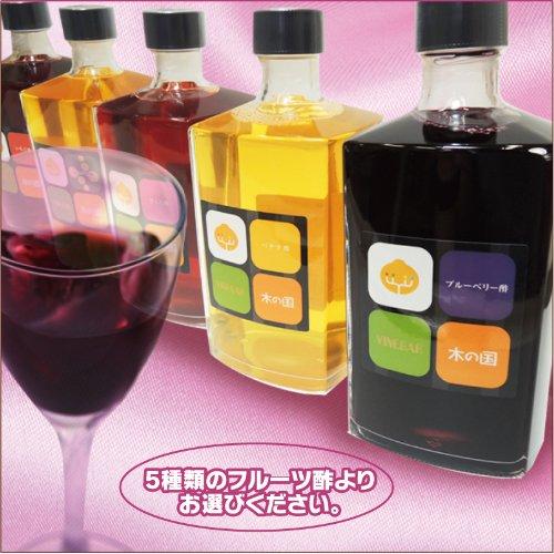NORUCA 飲む フルーツ酢 500ml(5本入)イチゴ酢2本、じゃばら酢2本、ブルーベリ酢1本【消費税込み】