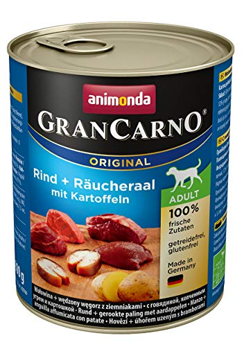 Animonda Gran Carno Hundefutter Adult Probierpack Adult Mix 2 (6 x 800 g) - 6
