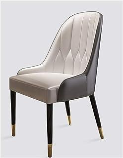 Silla de escritorio, silla de oficina, silla de sala de patas de metal, sillas de cocina, sillón, silla de sala, sillas de ocio, silla de madera maciza, silla de bañera, con respaldo y reposabrazos,