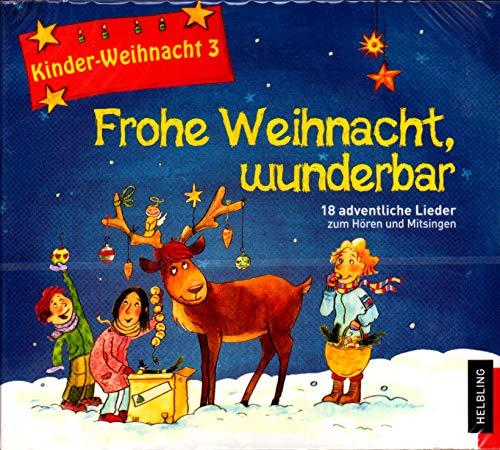 Niños de Navidad 3: ¡Feliz Navidad, Gris, CD–18adventliche Canciones para escuchar y cantar–Helbling Verlag s6917cd 9783850618724