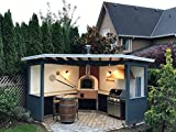 Grills'n Ovens Outdoor Brick Pizza Oven, Wood Fired, Made in Portugal