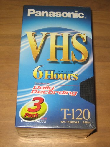 panasonic video cassette - 7