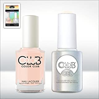 Color Club Gel BONJOUR GIRL Sheer Color Club Gel + Lacquer Duo by Color Club