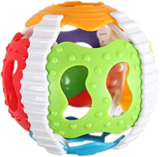 Anniston Kids Toys, 2Pcs Little Loud Bell Baby Hand Ball Rattle Intelligence DevelopmentGrasp Toy Baby Toys for Children ...