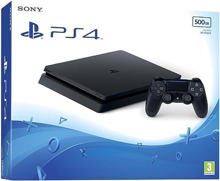 Playstation 4 Sim Novo modelo 1 Tera acompanha 1 Jogo em Mídia (Internacional)