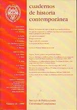 CUADERNOS DE HISTORIA CONTEMPORÁNEA. Nº 21.