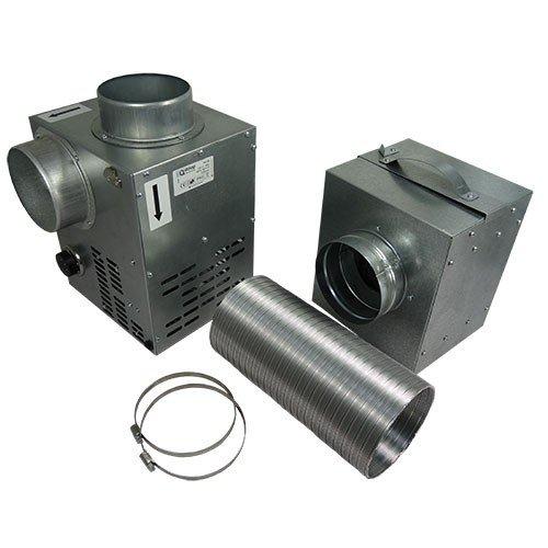 Kaminventilator + Filter dalap® CHIMNEY SET 150