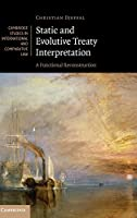 Static and Evolutive Treaty Interpretation: A Functional Reconstruction (Cambridge Studies in International and Comparative Law, Series Number 124)