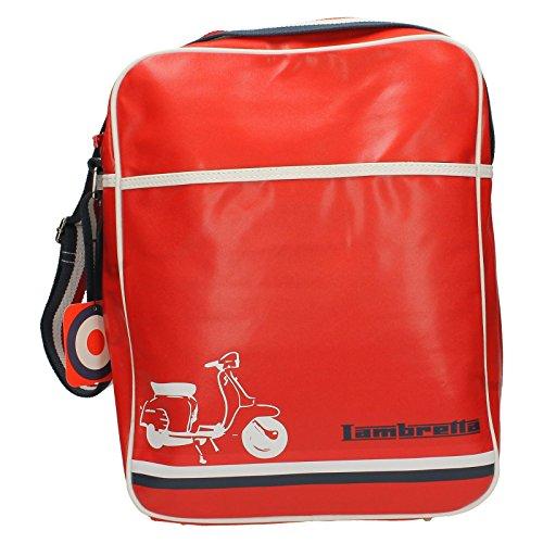 Lambretta Herren Umhängetaschen Scooter, Rot - rot - Größe: