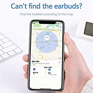 Wireless Earbuds 3D Stereo Noise Reduction Bluetooth Headphones Built-in Microphone Automatic Pairing with Charging Case Compatible with Android/Airpods/Samsung