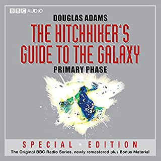 The Hitchhiker's Guide to the Galaxy: The Primary Phase (Dramatised) cover art