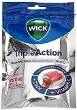 WICK Triple Action ohne Zucker, 10er Pack (10 x 72 g) -
