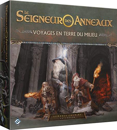 FFG Le Seigneur des Anneaux - Voyages en Terre du Milieu : Sombres chemins