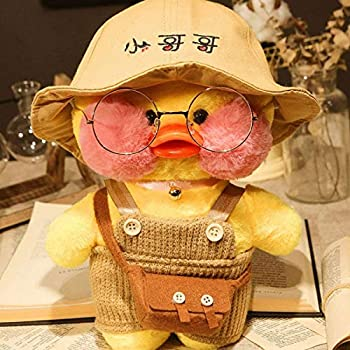 Duck Stuffed Animal Toy,Soft Plush Toy for Kids Girls Hugglable Plush Stuffed Toy with Cute Hat and Costume Best Gifts for Birthday 12in/30cm