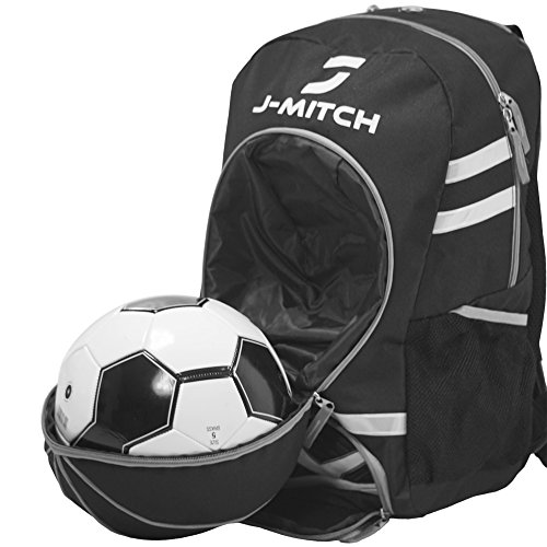 Soccer Backpack for Girls & Boys: Comes with Ball Holder & Cleat Compartment