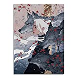 Women Who Run With Wolves Poster,Wolf and...