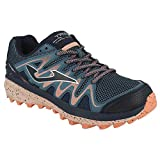 Joma Trek Lady, Zapatillas para Carreras de montaña Mujer, Azul-Rosa, 38 EU
