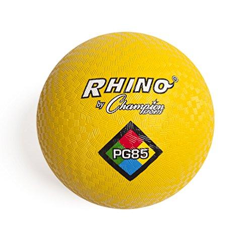 Champion Sports Playground Ball Yellow 85Inch
