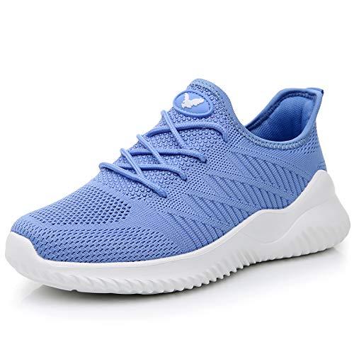 JARLIF Women's Memory Foam Slip On Walking Tennis Shoes...