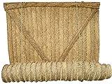 Jarapa Home Persiana de Esparto Hecha a Mano en España (120x100 cm.) - Cortina de Esparto Esterón Andaluz, persiana de Fibras Naturales - Persiana de Yute
