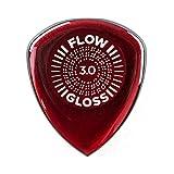 Jim Dunlop Flow Gloss 3.0mm Guitar Picks - 3 Pack (550P300)