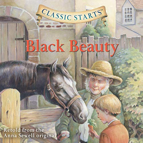 Black Beauty audiobook cover art