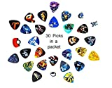 Pokemon Guitar picks (Mega Edition)(Collectibles)(30 picks in a Packet)