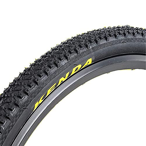 LDFANG Neumático de Campo traviesa de Bicicleta, 24/26/27,5 x 1,95 MTB Neumático de Alambre con Cuentas para montaña