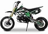 Pitbike Motocicletta da Motocross 125cc NCX Moto Virus Verde