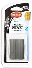 Hahnel HL-EL3e 1650mA Li-ion Battery with  Info Tech System  Replacement for Nikon EN-EL3e