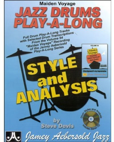 Maiden Voyage Jazz Drums Play-A-Long: Style and Analysis, Book & CD