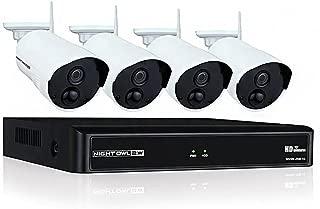 Night Owl WNVR201-44P Video Surveillance System - Network Video Recorder, Camera - 1080 Camera Resolution - HDMI