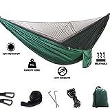 ATRNA Hamaca de Camping, Nylon de Paracaídas Ultraligero para Acampar al Aire Libre Senderismo Picnic Viaje Mochilero al Aire Libre