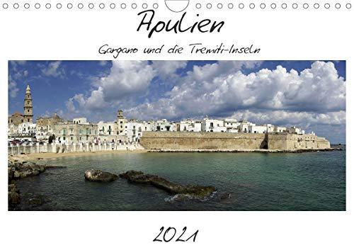 Apulien – Gargano und die Tremiti-Inseln (Wandkalender 2021 DIN A4 quer)