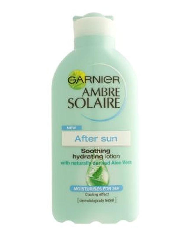 スノーケル想像力豊かなにやにやGarnier Ambre Solaire After Sun Soothing Lotion 200ml - ガルニエアンブレSolaire日なだめるようなローション200ミリリットルの後 (Garnier) [並行輸入品]