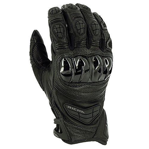 Richa Stealth Handschuh schwarz XL - Motorradhandschuhe