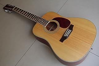الغيتار الصوتية 12 سلسلة أعلى جودة الطبيعة الطبيعية البوب الغيتار الغيتار الغيتار الكويتات Makfacp Acoustic guitar