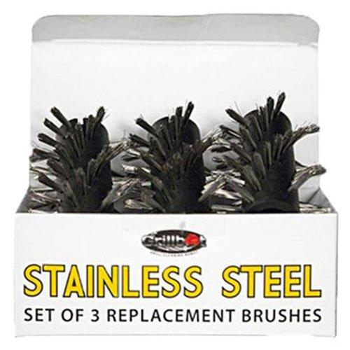 Grillbot Ersatzbürsten für Grill 1 Stainless Steel Brush