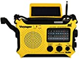 Kaito KA500L 4-Way Powered Emergency AM/FM/SW NOAA Weather Alert Radio with Solar,Dynamo Crank,Flashlight