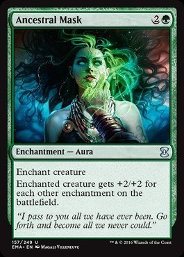 Magic The Gathering - Ancestral Mask (157/249) - Eternal Masters